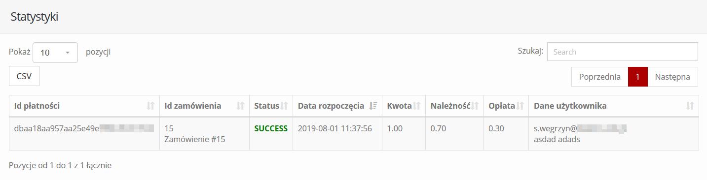 Status transakcji w HotPay